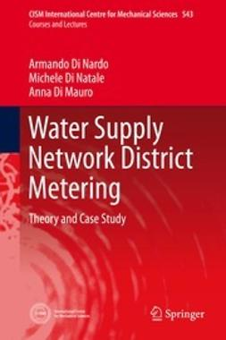 Nardo, Armando Di - Water Supply Network District Metering, ebook