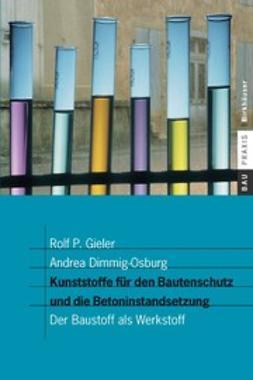 Dimmig-Osburg, Andrea - Kunststoffe für den Bautenschutz und die Betoninstandsetzung, ebook