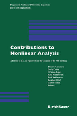 Cazenave, Thierry - Contributions to Nonlinear Analysis, e-bok