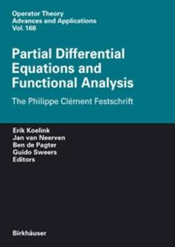 Koelink, Erik - Partial Differential Equations and Functional Analysis, ebook