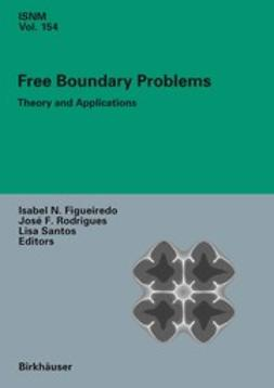 Figueiredo, Isabel Narra - Free Boundary Problems, ebook