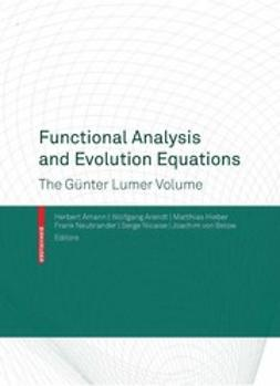 Amann, Herbert - Functional Analysis and Evolution Equations, ebook