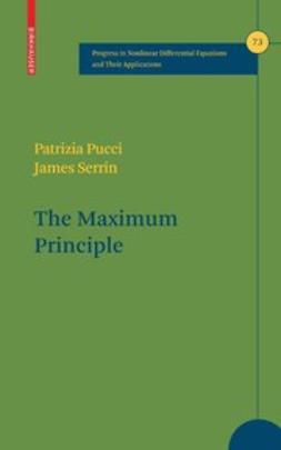Pucci, Patrizia - The Maximum Principle, ebook