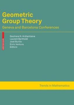 Arzhantseva, Goulnara N. - Geometric Group Theory, ebook