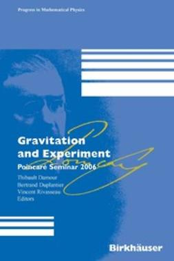 Damour, Thibault - Gravitation and Experiment, ebook