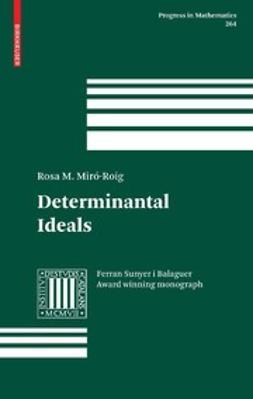 Miró-Roig, Rosa M. - Determinantal Ideals, e-bok
