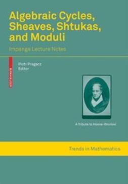 Algebraic Cycles, Sheaves, Shtukas, and Moduli