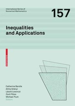 Bandle, Catherine - Inequalities and Applications, e-bok