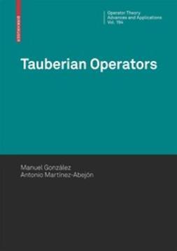 González, Manuel - Tauberian Operators, ebook