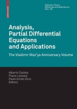 Cialdea, Alberto - Analysis, Partial Differential Equations and Applications, e-bok