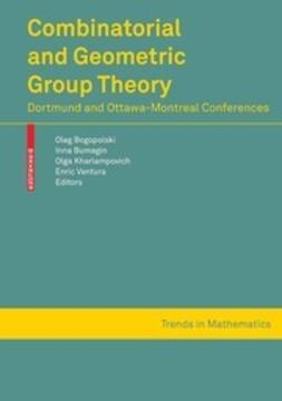 Bogopolski, Oleg - Combinatorial and Geometric Group Theory, ebook