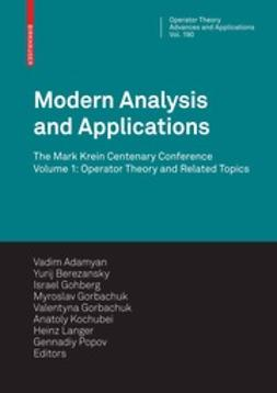 Adamyan, Vadim M. - Modern Analysis and Applications, e-bok