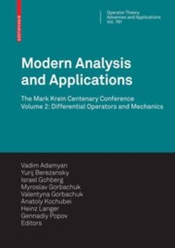 Adamyan, Vadim M. - Modern Analysis and Applications, ebook