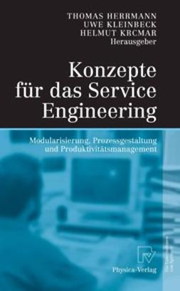 Herrmann, Thomas - Konzepte für das Service Engineering, ebook