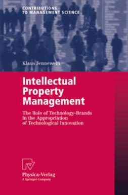 Jennewein, Klaus - Intellectual Property Management, ebook