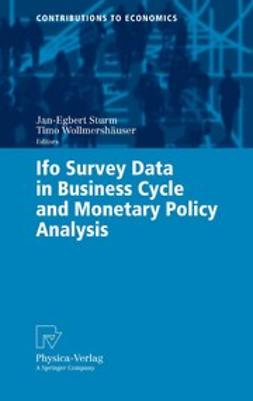 Sturm, Jan-Egbert - Ifo Survey Data in Business Cycle and Monetary Policy Analysis, ebook
