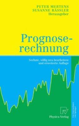 Mertens, Peter - Prognoserechnung, ebook