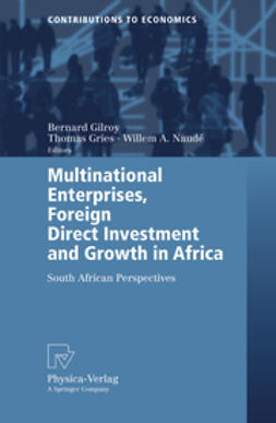 Gilroy, Bernard Michael - Multinational Enterprises, Foreign Direct Investment and Growth in Africa, ebook