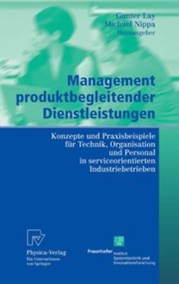 Lay, Gunter - Management produktbegleitender Dienstleistungen, ebook