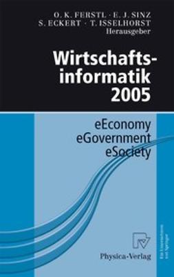 Eckert, Sven - Wirtschaftsinformatik 2005, e-kirja