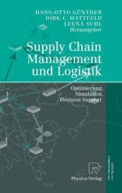 Günther, Hans-Otto - Supply Chain Management und Logistik, e-bok