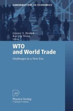 Heiduk, Günter S. - WTO and World Trade, ebook