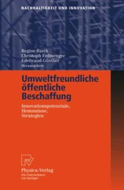 Barth, Regine - Umweltfreundliche öffentliche Beschaffung, ebook