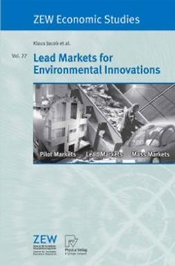 Beise, Marian - Lead Markets for Environmental Innovations, ebook