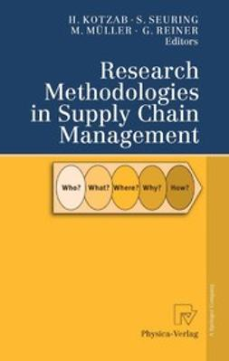 Kotzab, Herbert - Research Methodologies in Supply Chain Management, ebook
