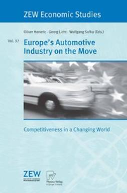 Heneric, Oliver - Europe's Automotive Industry on the Move, e-bok