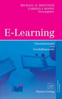 Breitner, Michael H. - E-Learning, ebook