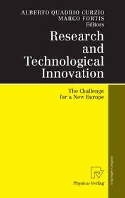 Curzio, Alberto Quadrio - Research and Technological Innovation, ebook
