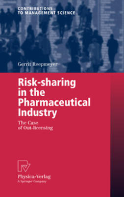 Reepmeyer, Gerrit - Risk-sharing in the Pharmaceutical Industry, e-kirja