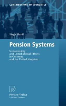 Mattil, Birgit - Pension Systems, ebook