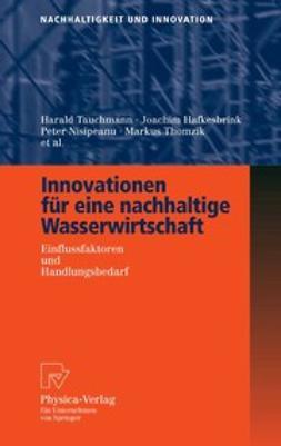 Brauer, Ansgar - Innovationen für eine nachhaltige Wasserwirtschaft, ebook
