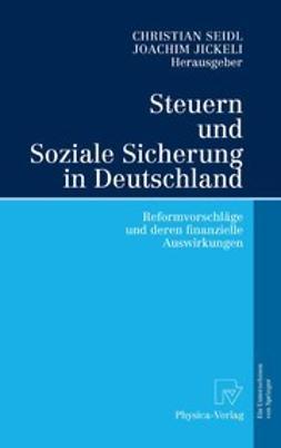 Jickeli, Joachim - Steuern und Soziale Sicherung in Deutschland, ebook