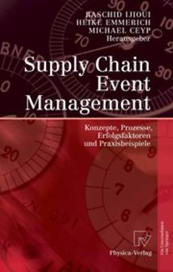 Ceyp, Michael - Supply Chain Event Management, ebook