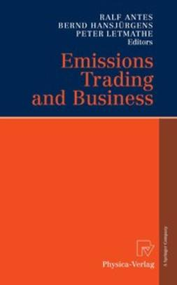 Antes, Ralf - Emissions Trading and Business, ebook