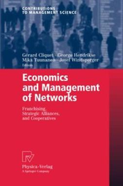 Cliquet, Gérard - Economics and Management of Networks, ebook
