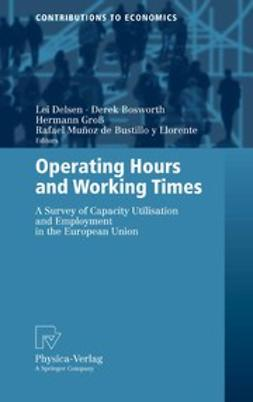 Bosworth, Derek - Operating Hours and Working Times, ebook