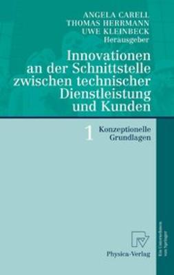 Carell, Angela - Innovationen an der Schnittstelle zwischen technischer Dienstleistung und Kunden 1, ebook