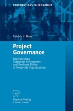 Renz, Patrick S. - Project Governance, ebook