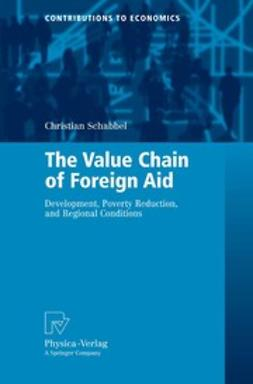 Schabbel, Christian - The Value Chain of Foreign Aid, ebook