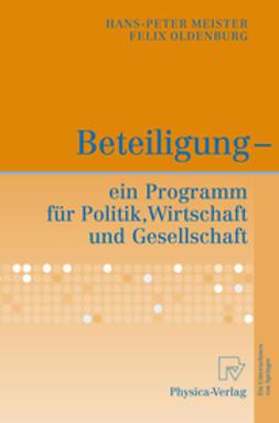 Meister, Hans-Peter - Beteiligung - ein Programm für Politik, Wirtschaft und Gesellschaft, ebook