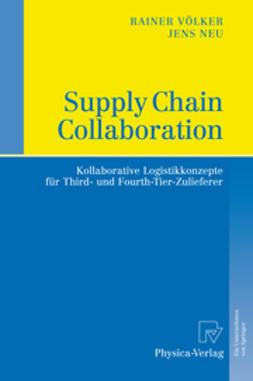 Neu, Jens - Supply Chain Collaboration, ebook