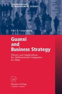Langenberg, Eike A. - Guanxi and Business Strategy, ebook