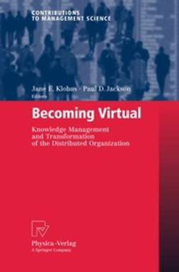 Jackson, Paul D. - Becoming Virtual, ebook