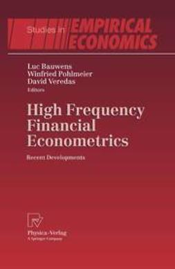 Bauwens, Luc - High Frequency Financial Econometrics, ebook