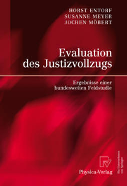 Entorf, Horst - Evaluation des Justizvollzugs, ebook
