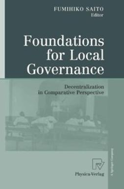 Saito, Fumihiko - Foundations for Local Governance, ebook